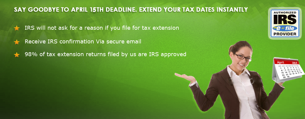 Green Extension Tax E File Irs Extension Form 7004 And 4868