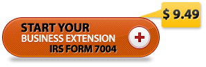 form 7004 IRS Tax extension filing